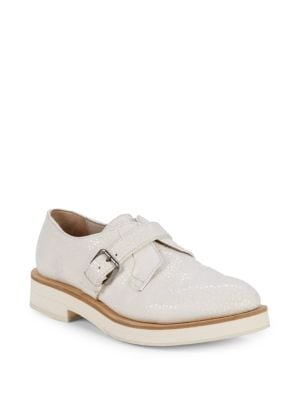 BRUNELLO CUCINELLI Classic Leather Monk Shoes