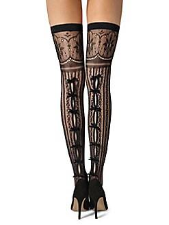 c10b4254f4a Product image. QUICK VIEW. Fogal. Kadisha Multi-Pattern Thigh High Socks