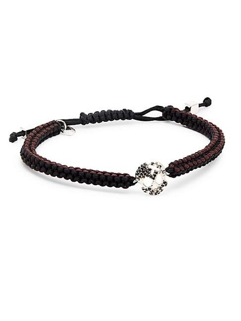 Macrame Skull Bracelet