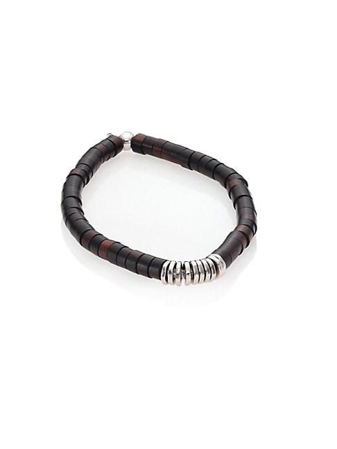 TATEOSSIAN | Silver Bamboo Bracelet | Goxip