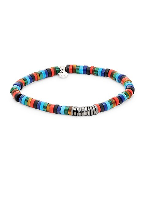 TATEOSSIAN | Multi-Media Beaded Bracelet | Goxip