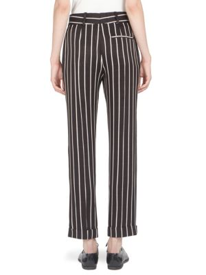 HAIDER ACKERMANN Wide leg pants Striped Wide-Leg Trousers