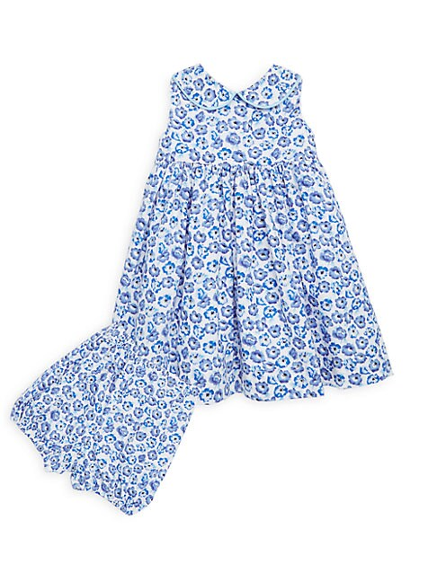 f4e705aef RACHEL RILEY | Little Girl's & Girl's Two-Piece Floral Dress & Bloomers ...