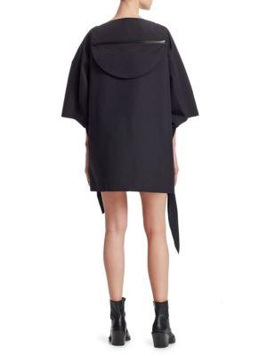 JUNYA WATANABE Dresses Taffeta Front Ruffle Hooded Dress