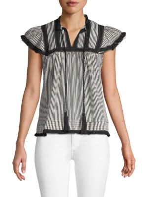 Love Sam Hailey Striped Top