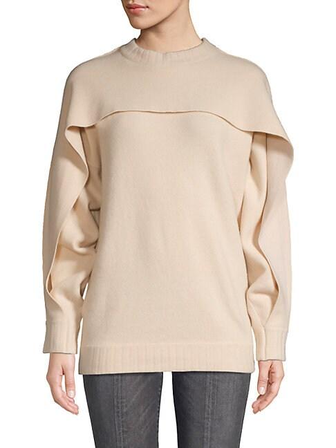 BROCHU WALKER | Classic Long-Sleeve Sweater | Goxip