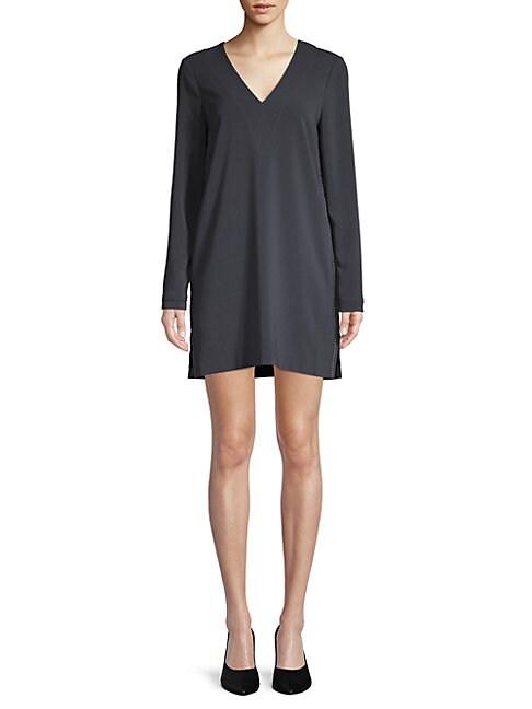 BROCHU WALKER | Layla Jersey Shift Dress | Goxip