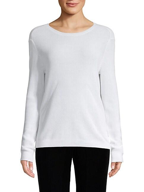 BROCHU WALKER | Classic Cotton Pullover | Goxip