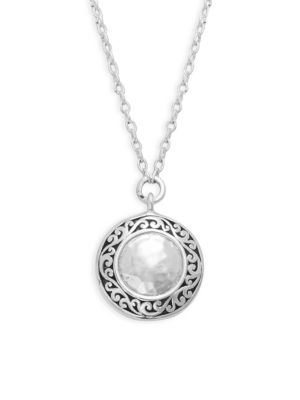 LOIS HILL Classic Sterling Silver Pendant Necklace