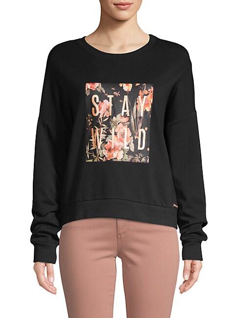 BETSEY JOHNSON   Classic Graphic Sweatshirt   Goxip