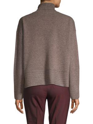 INHABIT Wools Turtleneck Wool & Cashmere Sweater