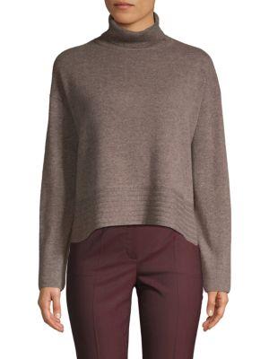 Inhabit Turtleneck Wool & Cashmere Sweater