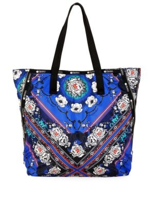 Lesportsac Collette Expandable Floral Print Ripstop Tote