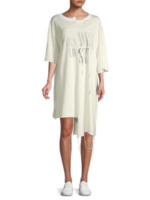 Alchemist Distressed T-Shirt Dress