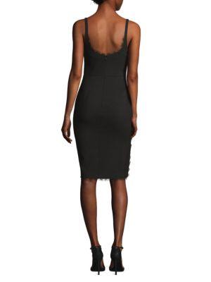 LIKELY Dresses Palmetto Side-Slit Dress