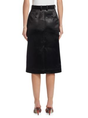 CALVIN KLEIN Pencil skirts Vintage Acetate Satin Pencil Skirt