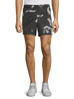 Blackbarrett Globe Camo Shorts