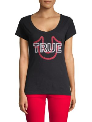 True Religion Classic Graphic Cotton Tee