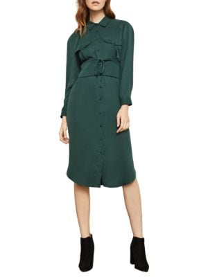 Bcbgmaxazria Corseted Shirtdress
