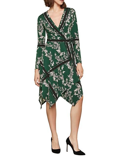 Bcbgmaxazria Isabella Asymmetrical Wrap Dress
