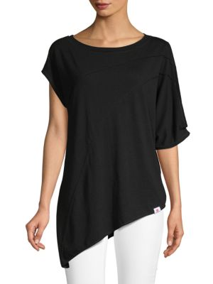 Vimmia Asymmetrical Short-Sleeve Tee