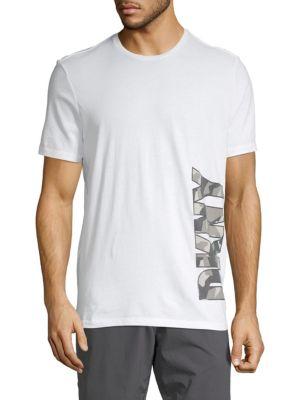 Saks Fifth Avenue Logo Cotton Tee