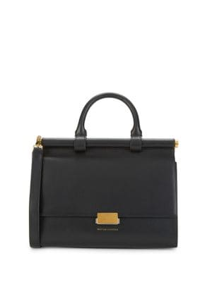 Want Les Essentiels De La Vie Maxi Valencia Leather Satchel Bag