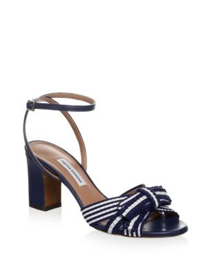 Tabitha Simmons Grosgrain Ribbon Sandals