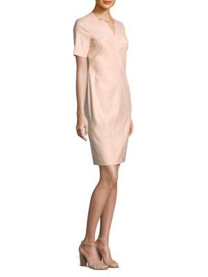 Piazza Sempione Cotton V-Neck Dress