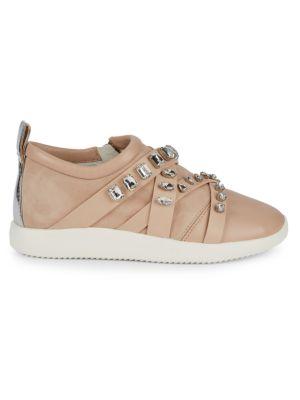 Giuseppe Zanotti Crystal Embellished Slip-On Sneakers