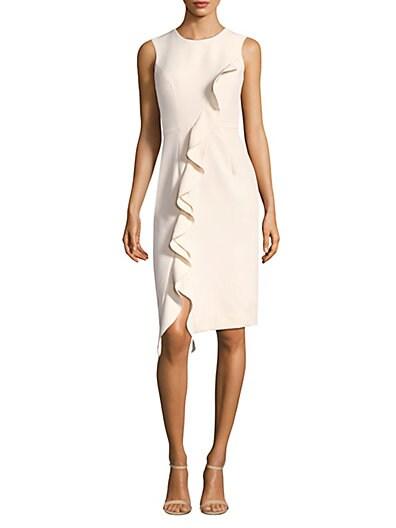 4230ad17b5ee Milly Sleeveless Ruffle Dress ...