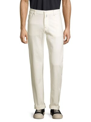 Kiton Jeans Classic Straight-Leg Stretch Jeans
