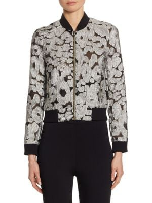 Roland Mouret Rochdale Embroidered Jacket