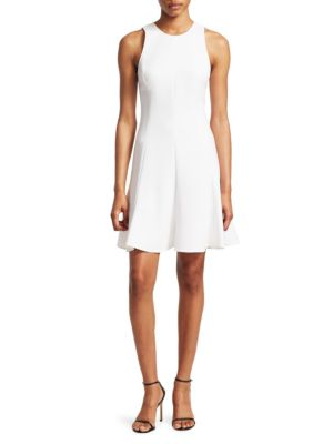 Elizabeth And James Seamed Fit-and-Flare Dress