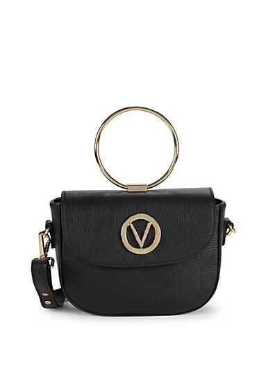 Valentino by Mario Valentino Lunette Leather Crossbody Bag ... 99abfb226e