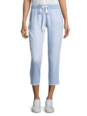 Bella Dahl Pants Frayed Hem Pants