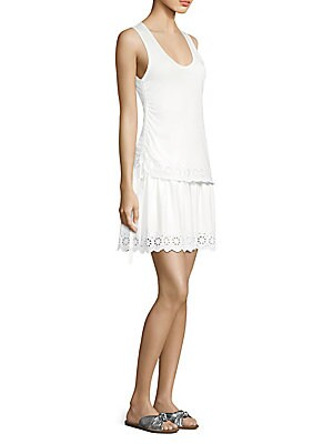 b1a6e889f6aa51 Rag   Bone - Flavia Eyelet Off-The-Shoulder Dress - saksoff5th.com