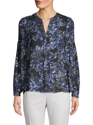 Parker Gathered Floral Top