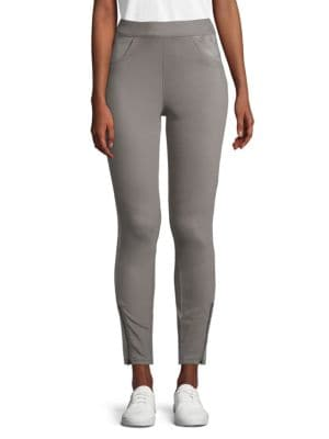 Hue Zip Cuffs Ankle-Length Pants