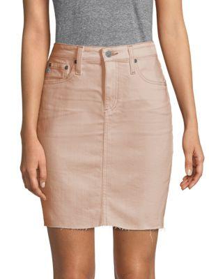 Ag Skirts Classic Denim Skirt