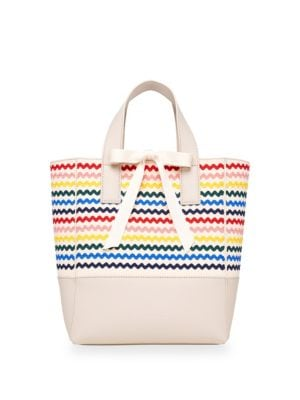 Loeffler Randall Totes Ribbon Shopper Canvas Tote