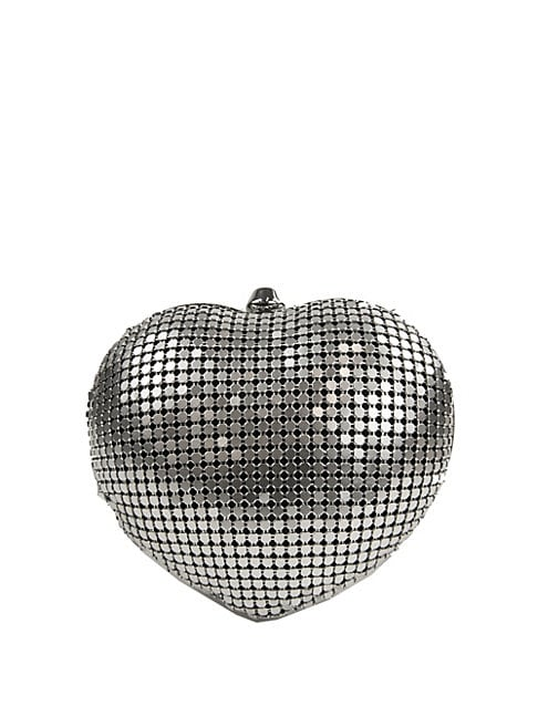 CIRCUS BY SAM EDELMAN | Textured Heart Convertible Clutch | Goxip
