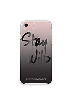 5c8fc93ae076f1 Stay Wild iPhone 7 Case BLACK OMBRE. QUICK VIEW. Product image