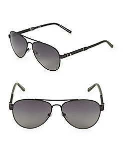 b7431dc1a6 QUICK VIEW. Montblanc. 59MM Aviator Sunglasses