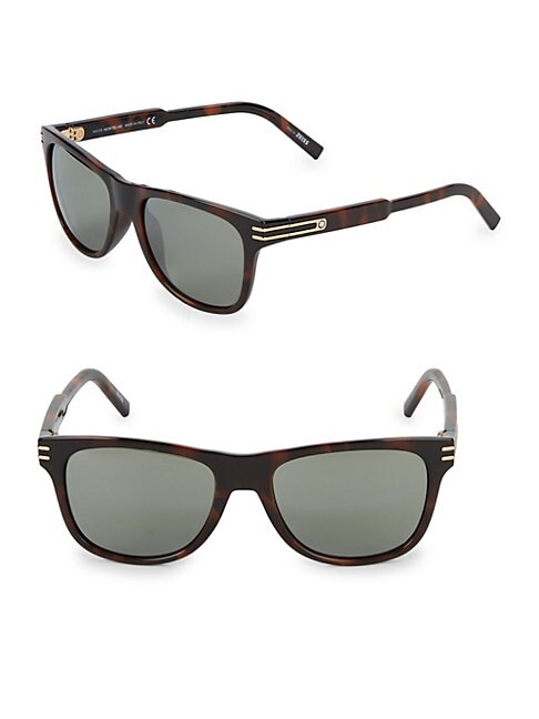 MONTBLANC | Injected 56MM Aviator Sunglasses | Goxip