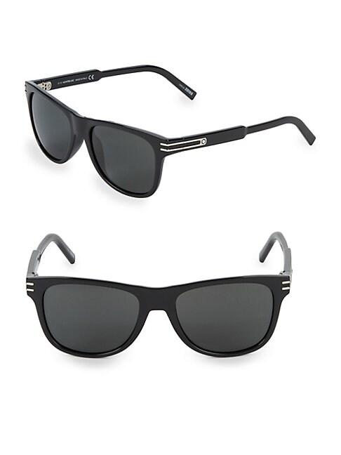 MONTBLANC | 56MM Square Sunglasses | Goxip