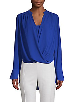 7db37cb8d0b24 QUICK VIEW. BCBGMAXAZRIA. Jacklyn Long-Sleeve Top