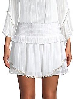 c34c0ecb3bf QUICK VIEW. Ramy Brook. Rosalie Smocked Mini Skirt