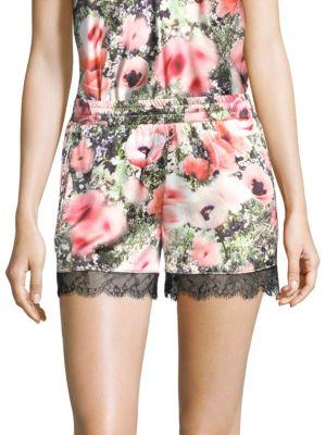 Fleur Du Mal Margo Lace Shorts