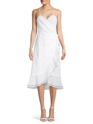 Kisuii Yael Wrap Dress